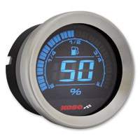 Koso 2″ Chrome Fuel Gauge