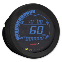 Koso 4″ Black Speedometer