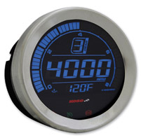 Koso 4″ Chrome Tachometer