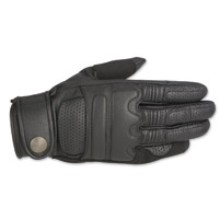 Alpinestars Oscar Men's Robinson Black Leather Gloves