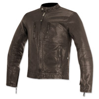 Alpinestars Oscar Men's Brass Brown Leather Jacket