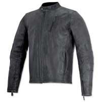 Alpinestars Oscar Men's Monty Black Leather Jacket