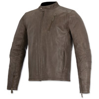 Alpinestars Oscar Men's Monty Brown Leather Jacket