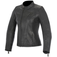 Alpinestars Oscar Women's Shelley Black Leather Jacket