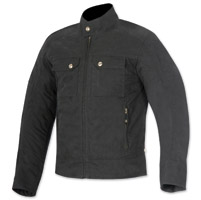 Alpinestars Oscar Men's Ray Black Canvas Jacket