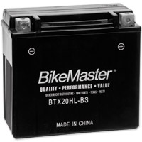 BikeMaster High Performance Maintenance Free Battery