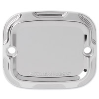 Arlen Ness Chrome Beveled Rear Master Cylinder Cover