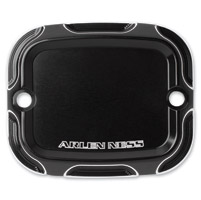 Arlen Ness Black Beveled Front Master Cylinder Cover