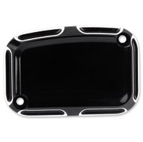 Arlen Ness Black Beveled Rear Master Cylinder Cover