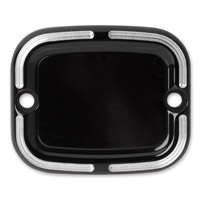 Arlen Ness Black Slot Track Rear Master Cylinder Cover