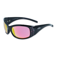 Global Vision Eyewear Marilyn 2 Black Sunglasses with G-Tech Pink Lens