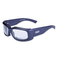 Global Vision Eyewear Prospect Black Sunglasses with Clear Lens