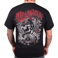 MotorCult Men's Driver Black T-Shirt