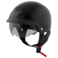 Scorpion EXO-C110 Black Half Helmet