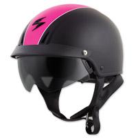 Scorpion EXO EXO-C110 Split Black/Pink Half Helmet