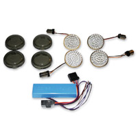 Custom Dynamics Smoked LED Turn Signal Conversion Kit