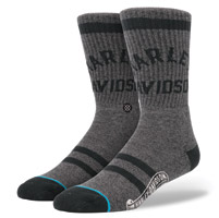 Stance Men's Athletic Harley Davidson Charcoal Socks