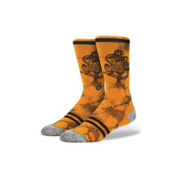Stance Men's Harley Davidson Oaks Orange Socks