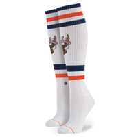 Stance Women's Harley Davidson Historic White Socks