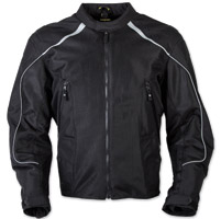 Scorpion EXO Men's Ascendant Black Mesh Jacket