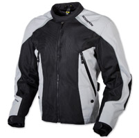 Scorpion EXO Men's Velocity Black/Silver Jacket