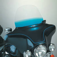 Memphis Shades 12″ Gradient Blue Replacement Windshield