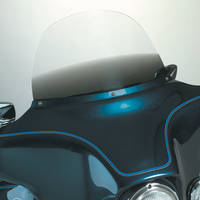 Memphis Shades 12″ Gradient Black Replacement Windshield