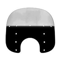 Memphis Shades 13″ Tall Gradient Black Replacement Plastic for Fats 7″ Headlight
