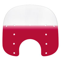 Memphis Shades 13″ Tall Gradient Ruby Replacement Plastic for Fats 7″ Headlight