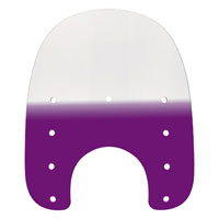 Memphis Shades 15″ Tall Gradient Purple Replacement Plastic for Slims 7″ Headlight