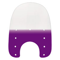 Memphis Shades 17″ Tall Gradient Purple Replacement Plastic for Slims 7″ Headlight