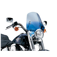 Memphis Shades The Shooter Gradient Blue Handlebar Mount Windshield