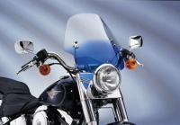 Memphis Shades Hell Cat Gradient Blue Handlebar Mount Windshield