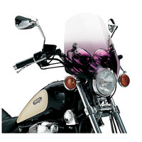 Memphis Shades The Shooter Gradient Purple Handlebar Mount Windshield