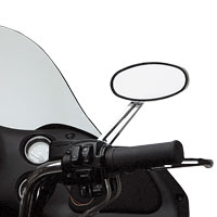 Drag Specialties Stealth Mirrors with Dual Intensity LEDs