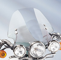 Memphis Shades Hell Cat Solar Handlebar Mount Windshield