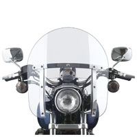 National Cycle Low Boy Heavy Duty Adjustable Windshield