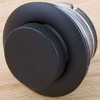 J&P Cycles Black Pop-Up Flush Mount Gas Cap