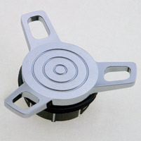 J&P Cycles® Spinner Non-Vented Gas Cap