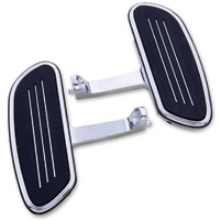 J&P Cycles® Streamliner Passenger Floorboards Kit