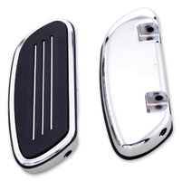 J&P Cycles® Streamliner Passenger Floorboards Set