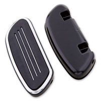 J&P Cycles® Streamliner Passenger Floorboard Set