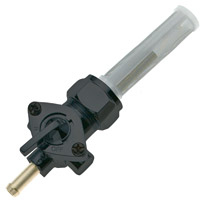 J&P Cycles® Black Replacement Fuel Valve