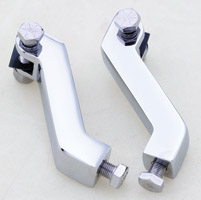 J&P Cycles® Chrome Offset Mounts