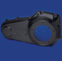 J&P Cycles® Black Outer Primary Cover