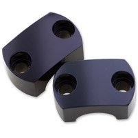 Milwaukee Twins Black Bamboo Top Clamps