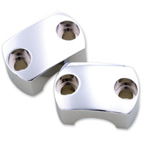 Milwaukee Twins Chrome Bamboo Top Clamps