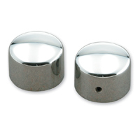 Milwaukee Twins Dome Front Axle Nut Covers