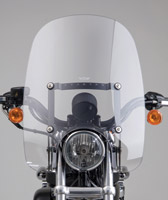 National Cycle 18-1/2″ Spartan Windshield for Sportster