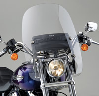 National Cycle 16-1/4″ Spartan Windshield for Dyna Models
